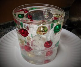 Holiday Gel Candle
