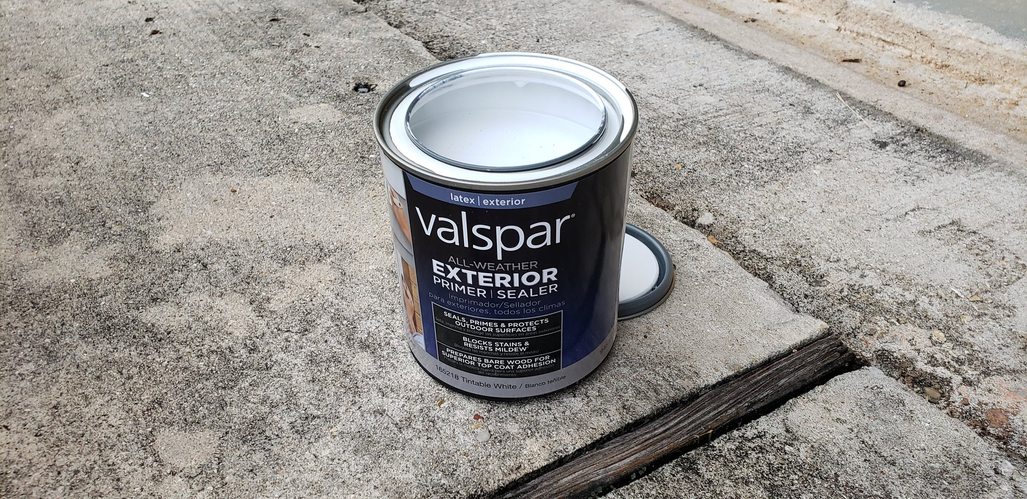 Painting the Planter Box