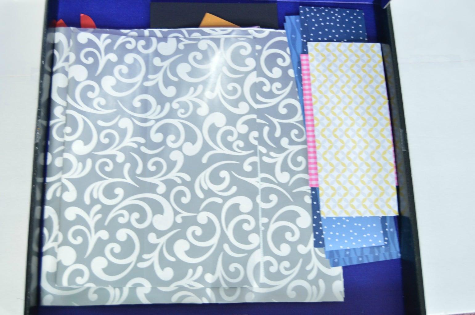 Extra Bonus ;) - Sharpie Box for Paper Storage.