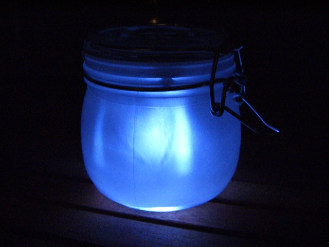 Home-made Sun Jar (BFG dream jar)