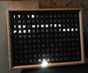 YAWC - Yet Another Word Clock