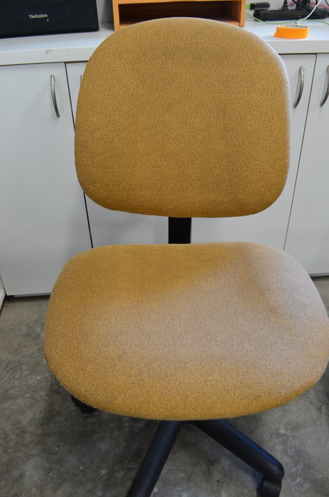 Reupholster a Task Chair