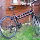 Swing Wobble Mountain Bicycle BSA Shot-Gun Break a Leg Horror Story Horcrux Bike.