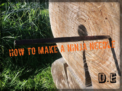 How to Make a Throwing Needle
