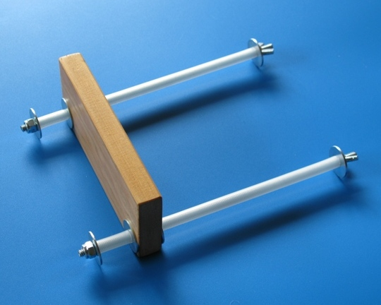 iPad Stand from Nuts & Bolts