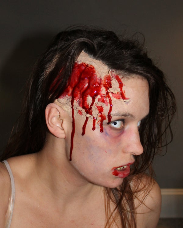 Exposed Brain for Your Zombie Costume