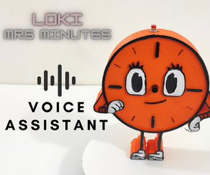 Miss Minutes Voice Assistant Using Raspberry Pi Zero W