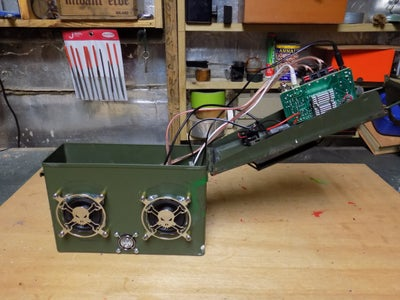 Attaching the Bluetooth Module and Voltage Regulator