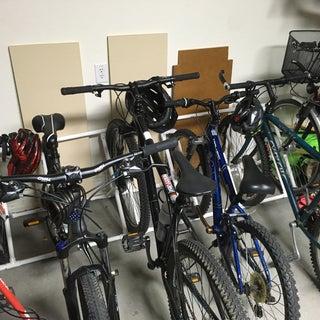 Apartment PVC Bike Rack