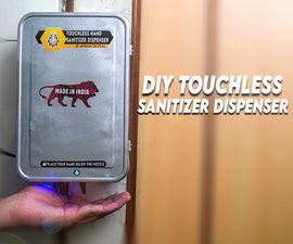 Diy Automatic Sanitizer Dispenser