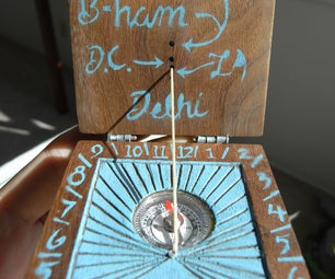 Diptych Sundial