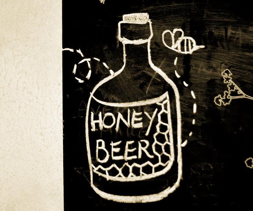 ★HOMEBREW HONEY BEER★