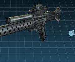 New Knex  Gun