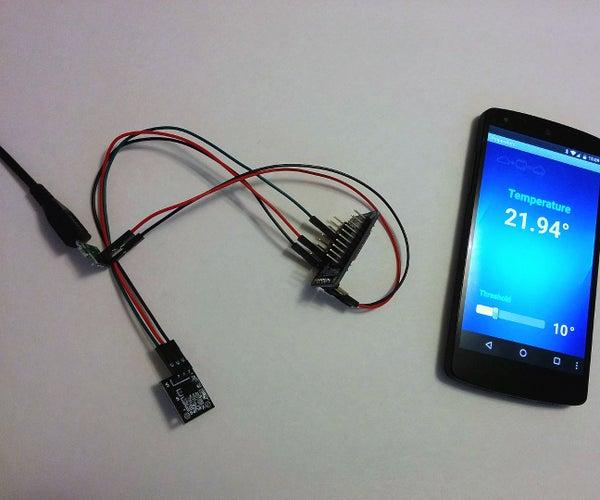 Temperature Monitor With ESP8266 - IoT