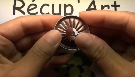 Fold Using Round Nosed Pliers