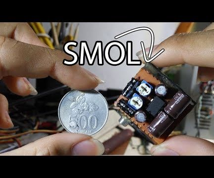 Smallest DAC With Amplifier!