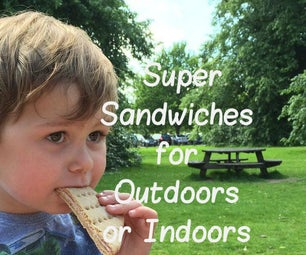 Super Sandwich Thins for Outdoors or Indoors