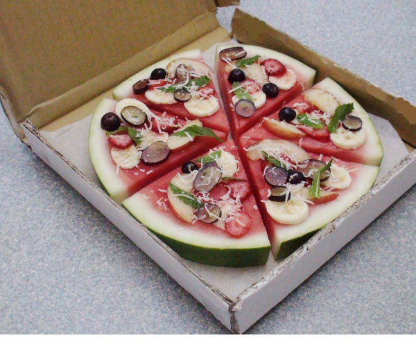 Fruit and Watermelon Pizza