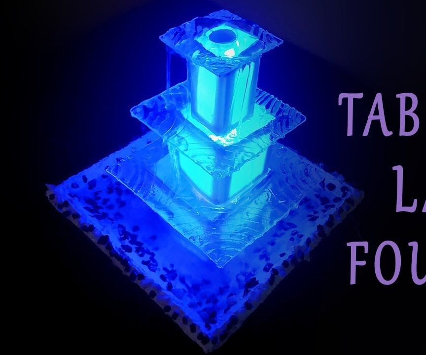 DIY Glowing Fountain