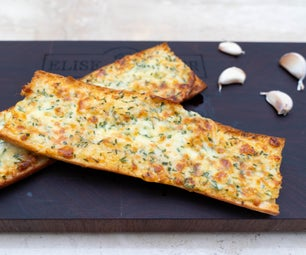 Delicious Cheesy Garlic Bread