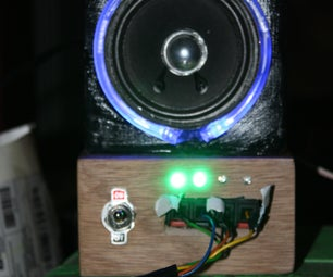 Building a Small Garage Speaker