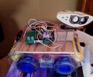 Small Robot Made From Hacked Toys
