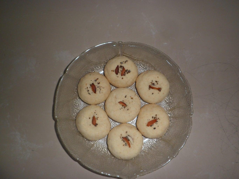 Nankhatai Coconut Cookies