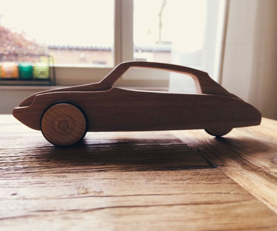 Citroen DS Wooden Toy Car