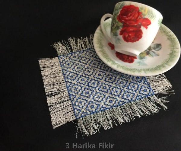 Diy Embroidery Coaster