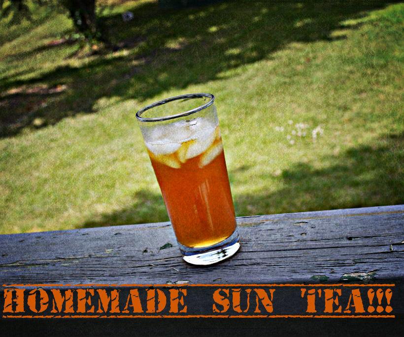 Homemade Sun Tea