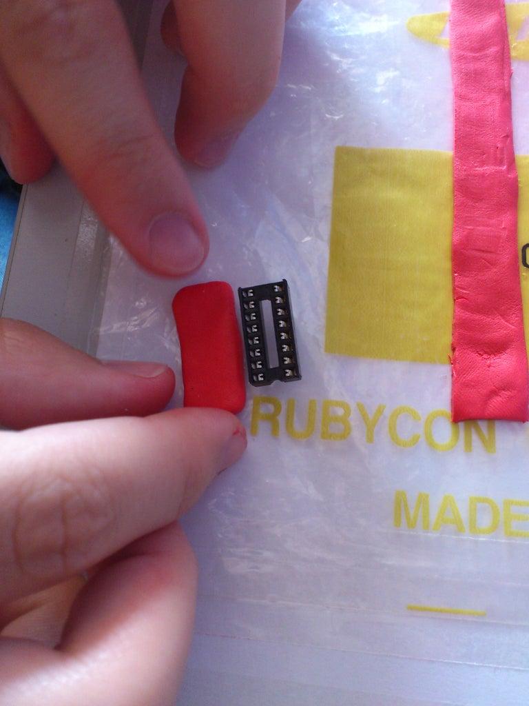 Sugru Electronics Style Bracelet
