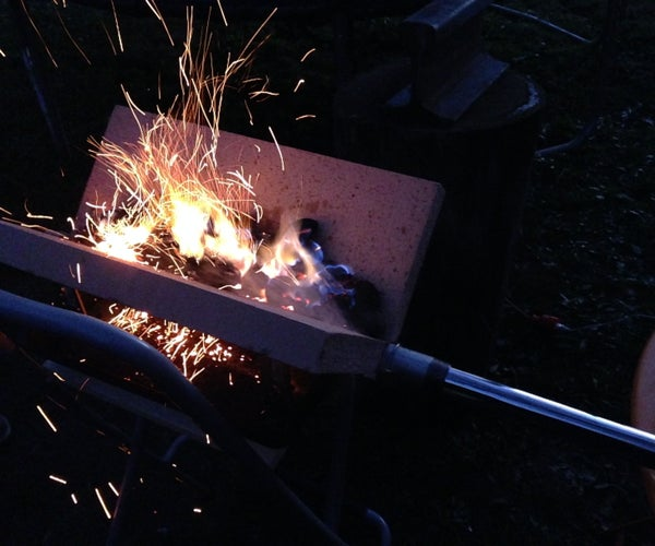 Folding Chair Charcoal Forge