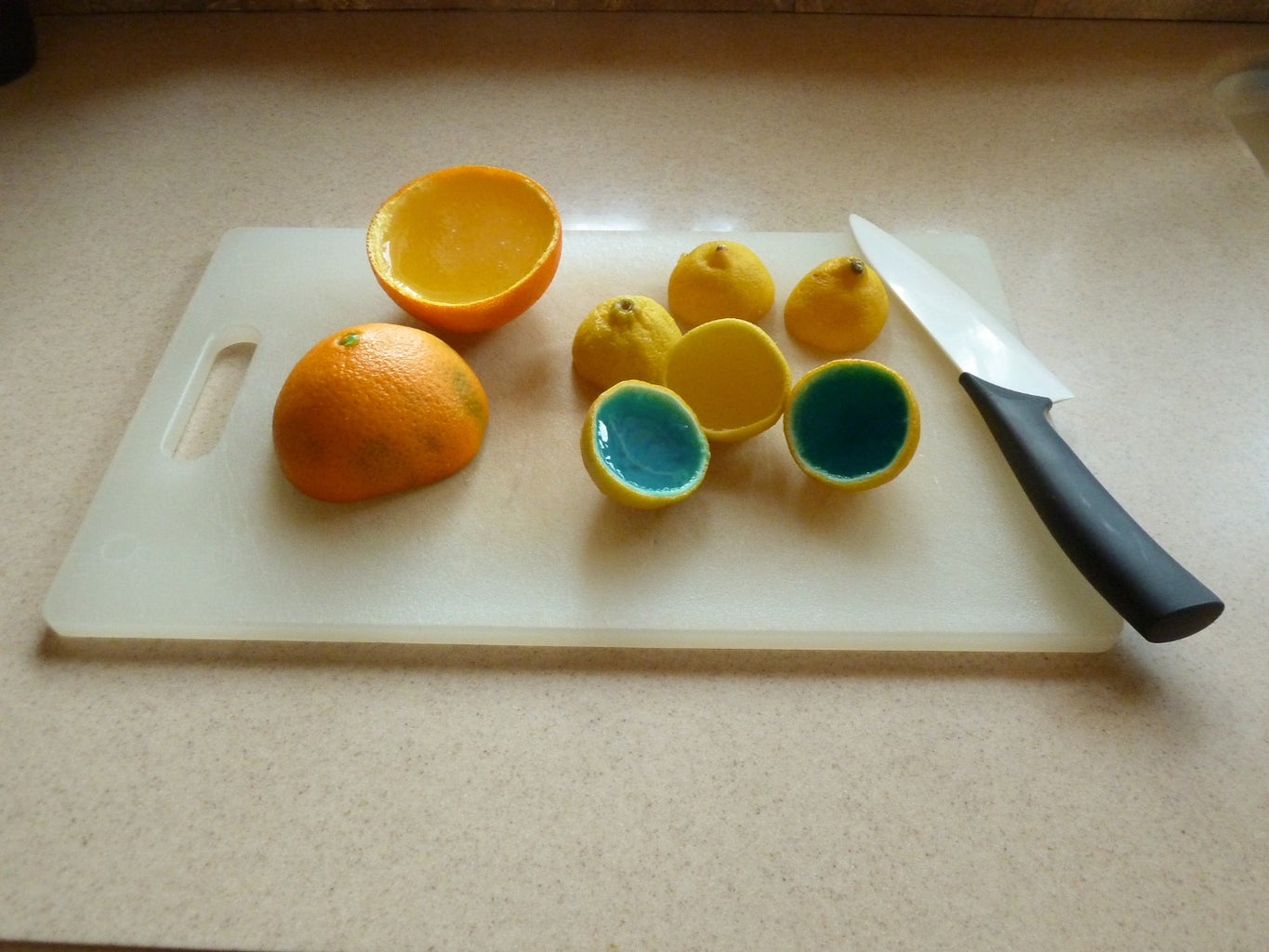 Cut the Fruit in Front of the Person You Want to Prank