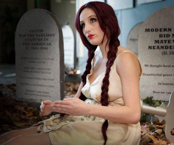 Halloween Costume: Wind-Up Doll Makeup Tutorial