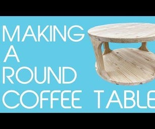 Round Modern Coffee Table