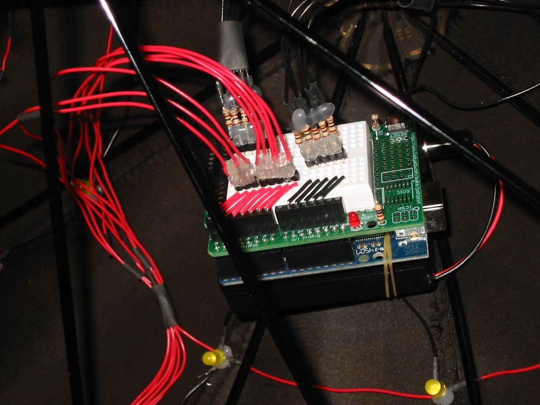 LED Umbrella With Arduino