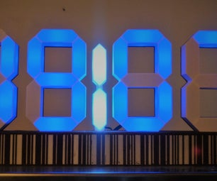 7 Segment Clock Version 2