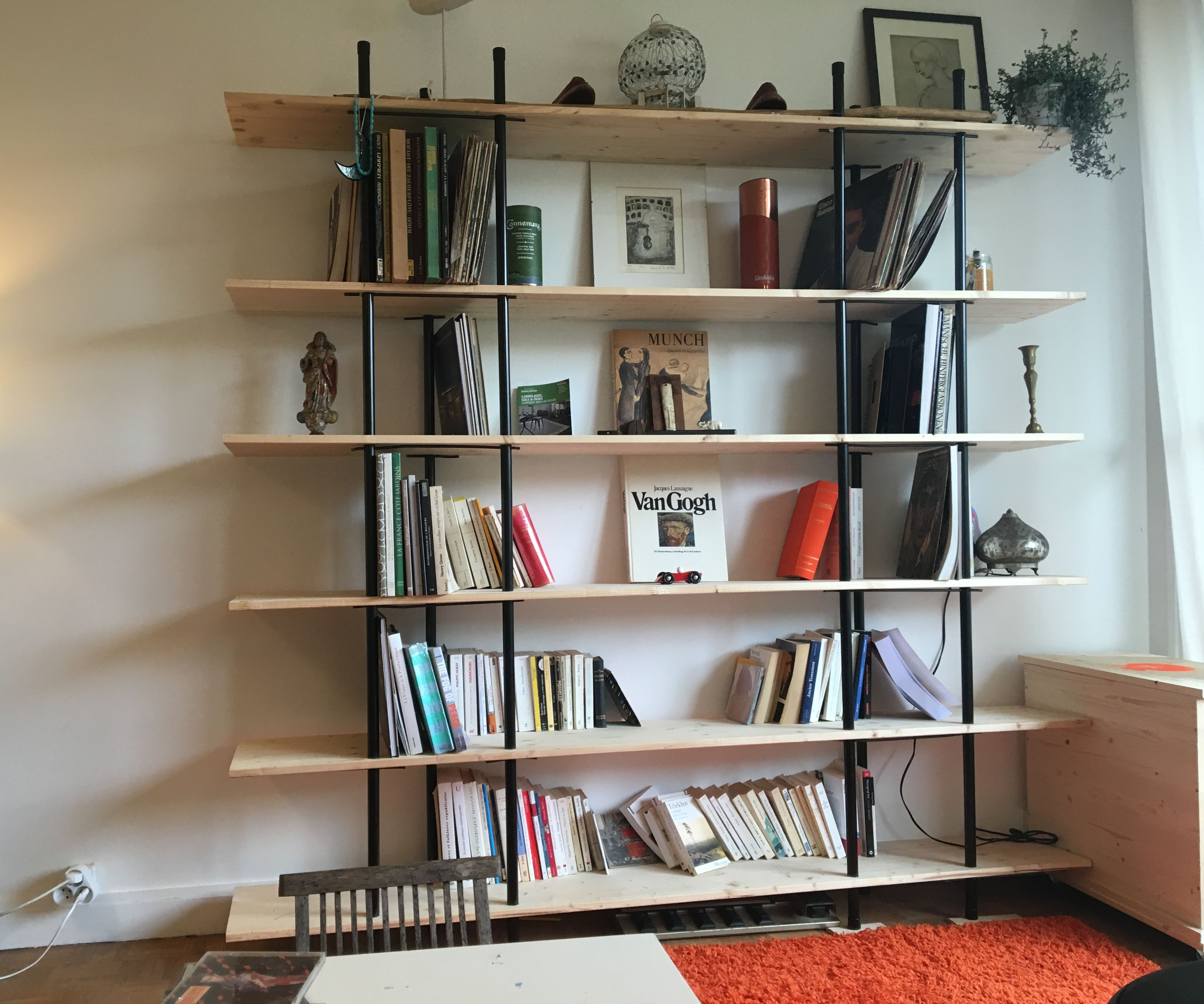 Clear Wood BookCase
