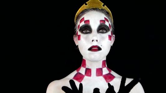 Chess Queen Makeup Tutorial