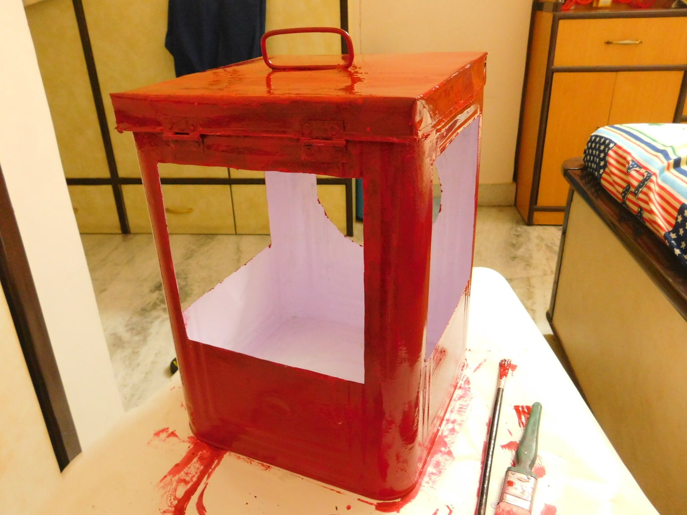 Paint the Outer Walls Red