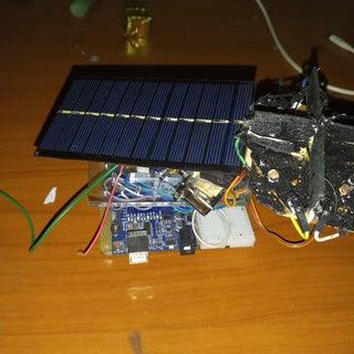DIY Miniature Solar Tracker