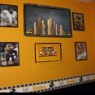 Reclaimed Wood Pittsburgh Skyline