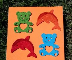 Foam Teddy Bears and Dolphins