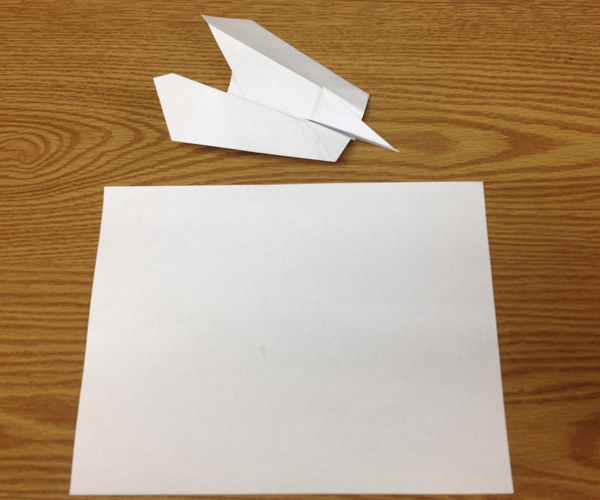 How to Make the Mosquito Bomber Paper Airplane