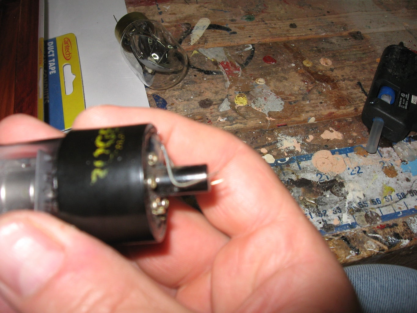 Install the Vacuum Tubes Into the Base