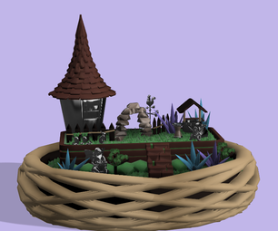 Tinkercad的童话园锅