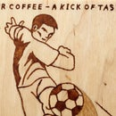 Coffee Instead of Pyrography