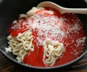 Spaghettieis--helado De Spaghetti