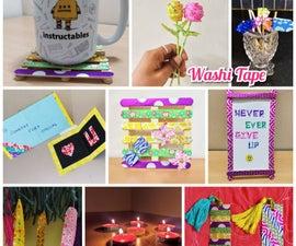 9 Creative Ways of Using Washi Tape