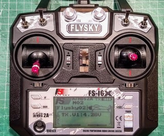 Flysky RF Transmitter Powered Via USB + Wire Signal Connection to PC + Free Simulator Software